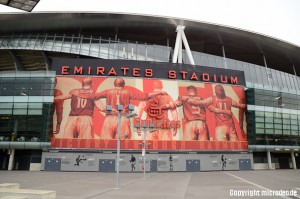 Städtereisen London - Arsenal Emirates Stadium