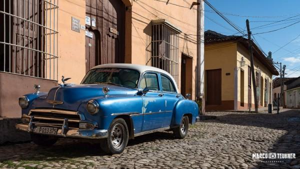 Oldtimer in den Straßen von Trinidad