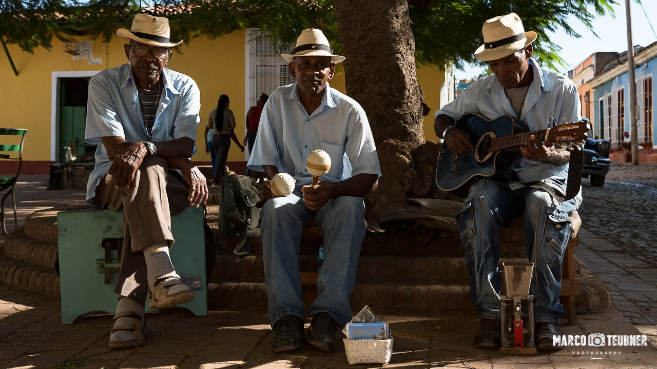 Rundreise Kuba - Trinidad - Straßenmusiker
