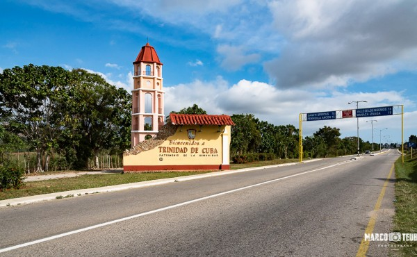 Ortseingang Trinidad
