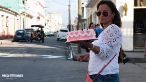 Wie überall im Lande gibt es auch in Cienfuegos am Wochenende Kuchen