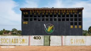 Im Baseballstadion von Playa Giron