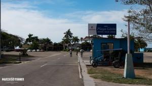 Der Eingang des Hotel Playa Giron